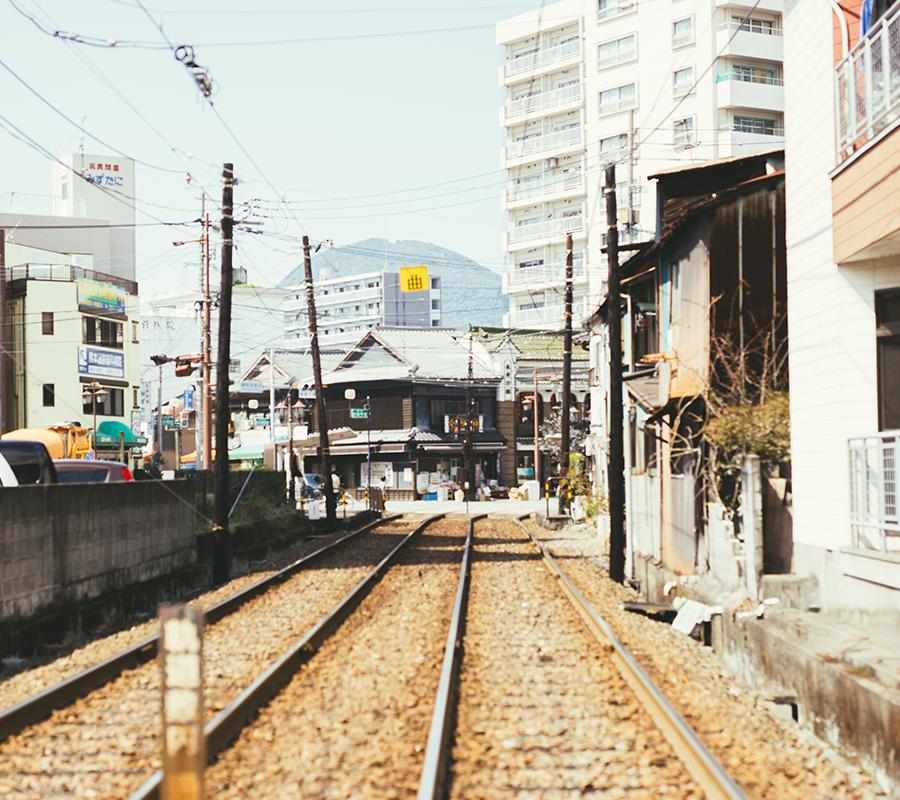 熊本市電線路